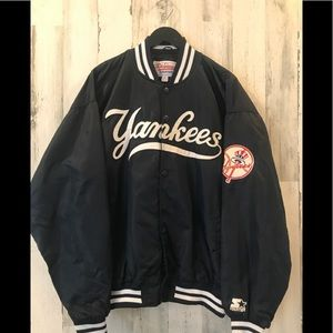 Vintage New York Yankees Satin Starter jacket